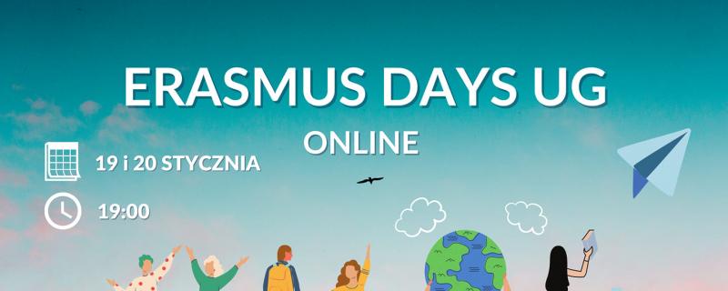 Erasmus Info Days na UG tym razem online