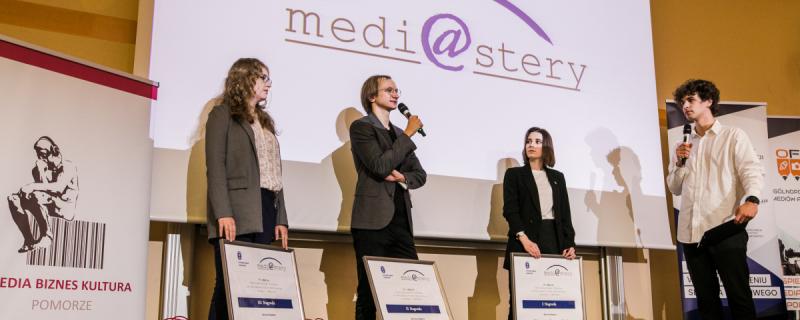Medi@stery 2021. Nagrody rozdane! [ZDJĘCIA]