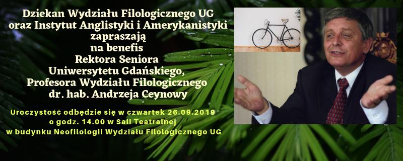 Benefis Profesora Andrzeja Ceynowy