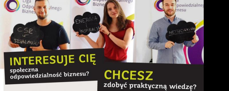 Ruszyła ogólnopolska rekrutacja do programu Ambasadorów CSR