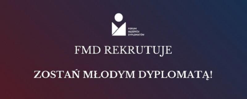Forum Młodych Dyplomatów znów otwiera rekrutację