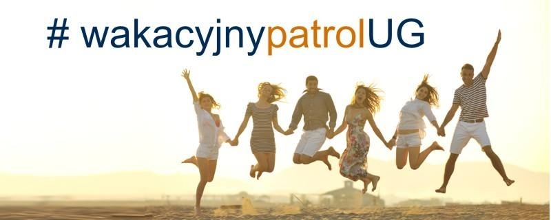 Baner Wakacyjnego Patrolu UG