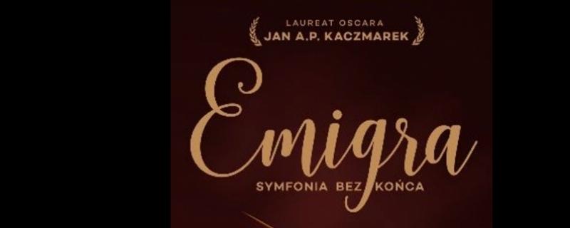 Plakat EMIGRA