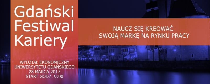Plakat Gdańskiego Festiwalu Kariery