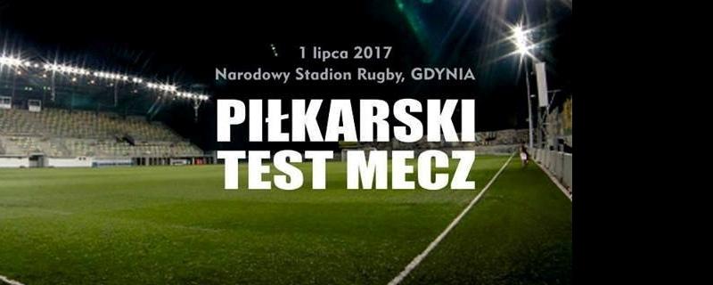 Baner Piłkarskiego Test Meczu