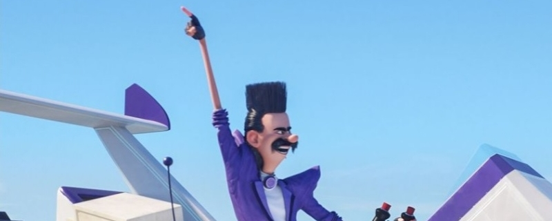 Kadr z filmu Gru, Dru i Minionki