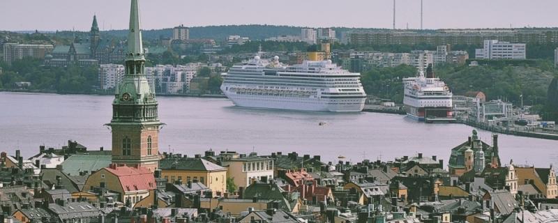 Port w Sztokholmie Photo by Tatiana Lapina on Unsplash