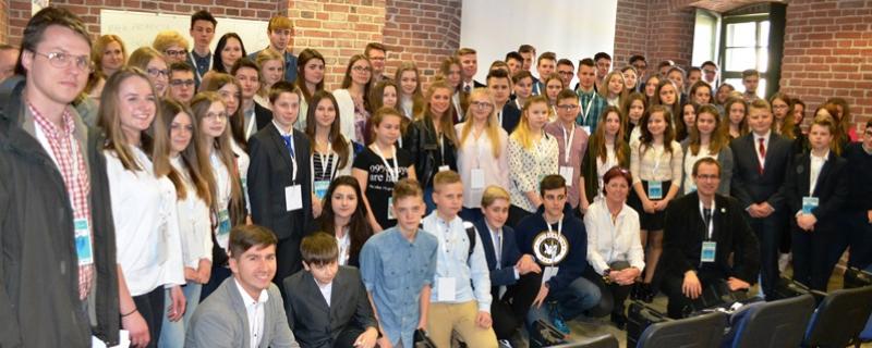 Uczestnicy I Kongresu Młodzieżowych Rad Pomorza