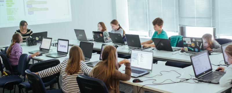 Uczestnicy Codeweek