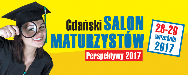 Baner Gdańskiego Salonu Maturzystów