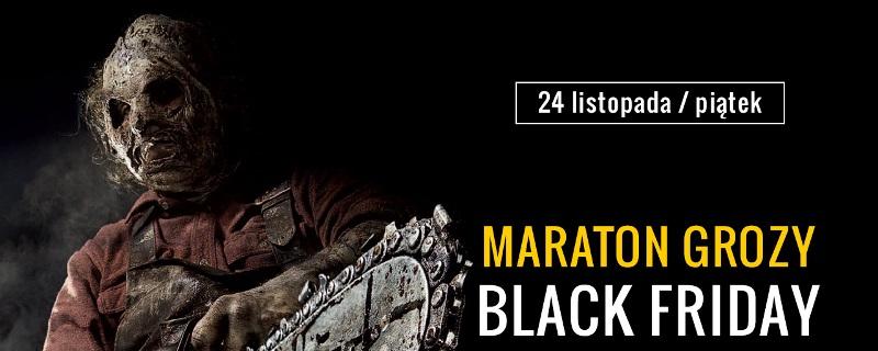 Baner Maratonu Black Friday