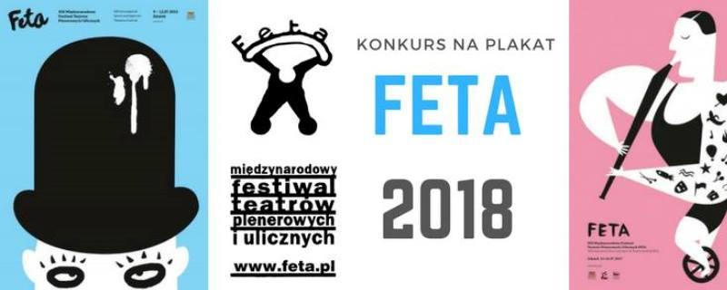 Baner konkursu na plakat FETA