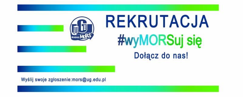 Rekrutacja Radia MORS UG