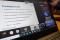 Zdjęcie laptopa z widocznym webinarium