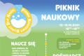 Fragment plakatu Pikniku Naukowego