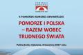 Baner X Pomorskiego Kongresu Obywatelskiego