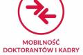 Logo projektu Mobilność Doktorantów i Kadry