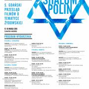 Plakat Shalom Polin