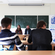 Spotkanie Radio MORS UG z Pawłem Lucińskim z Radia Gdańsk