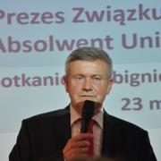Prezes Wojciech Okoński, Fot. Jerzy Uklejewski